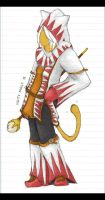 White Mage Artifact -Coloured- by Aeyze