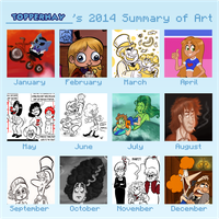 TopperHay 2014 Art Summary by TopperHay
