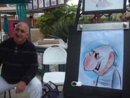 Live Caricature 7 by aaronphilby