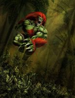 Wild Blanka by CASTELLO
