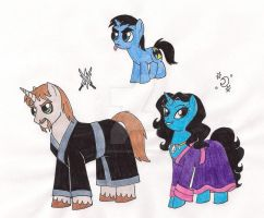 My Little Al Ghuls by 13foxywolf666