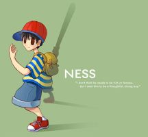 NESS - EarthBound by meechiru