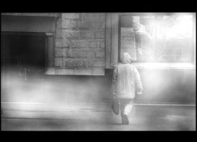 The fog man by LaChatRose