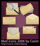Mail Icons 2006 by Cavin
