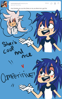 StH - Human Sonic Ask by MitarashiBoi