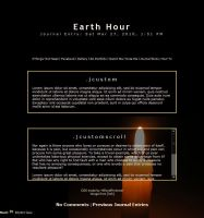 Earth Hour Animated by TwiggyTeeluck
