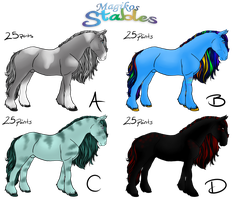 FREE Horse Adopts OPEN! by DragonsFlameMagic