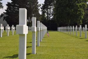 Colleville Cemetery 16 by Cpl-Highway