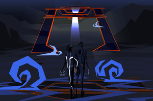 Tron Legacy: Cartoonified by Eeloyloy
