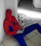 Spider Man is drunk by Ju-dreams