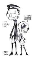 INVADER ZIM - ZADR by Naplez