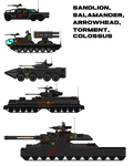 Updated Carnaithian vehicles! by daniellandrom