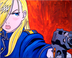 FMA : Olivier Mira Armstrong by iareawesomeness