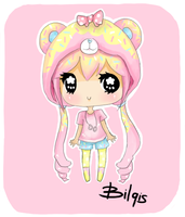 GIFT: Ribbon Heart-Lala by Bilqis-Roar
