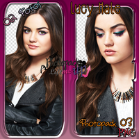 Photopack 03 PNG Lucy Hale by PhotopacksLiftMeUp