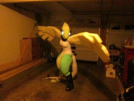 Lugia Cosplay WIP by AppleBush