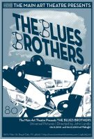 The Blues Brothers by poisontoothprints
