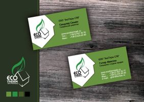 ecotherm business card 2 by AndexDesign