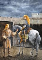 Angrod and Aegnor by Filat