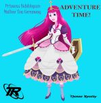 Adventure Time Bubblegum Redux by Spi-ritual-ity