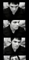 EMOtion -Gerard Way Filmstrip- by RomancedWithWhispers