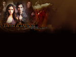 Elena and Damon by creature-in-night
