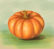 Pumpkin study by Eleika