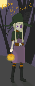 Solemn Witch Form by HellStorm8000