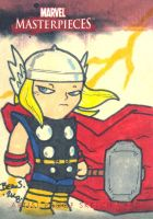 Marvel Sketch Proof- Thor. by hedbonstudios