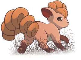 Vulpix by Nollaig