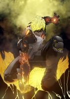 Genos One Punch Man Fan Art by NateJ25