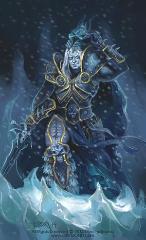 Lich King by CurlyJul