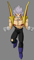 Baby King Vegeta 2nd form by RobertoVile