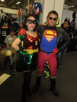 Superboy and Robin Stephany Brown by eriksuperboy