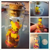 Pikachu Pendant by Faye-Fox