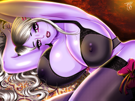 MANAWORLD Lingerie Contest Entry: Wanting You... by JassyCoCo