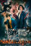 Fantastic Beasts and Where to Find Them Poster by DenisDlugas