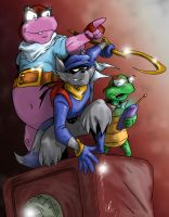 Sly Cooper - The Next Heist by LRitchieART