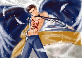 Anime Castiel by Frog27