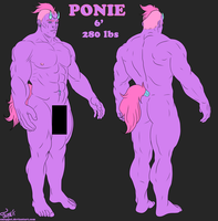Ponie Reference by Smoppet