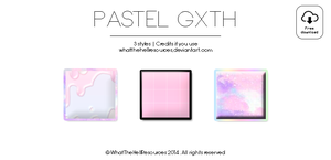 Pastel Gxth | STYLES by WhatTheHellResources