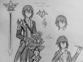 Kingdom Hearts OC - Master Zulaph (updated) by ExusiaSword