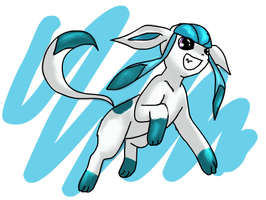 Glaceon by avui
