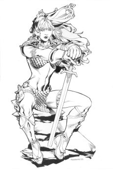 Red Sonja by UdonCrew