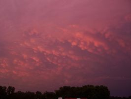 after the storm sunset clouds by hibbstock