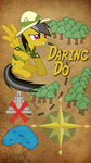 Daring Do 9x16 Phone BG by TecknoJock