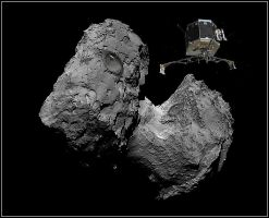 Comet on .67P... by fisher57