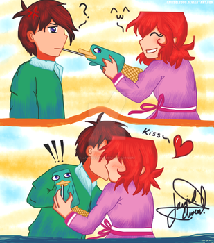 TnM - I want to kiss you by Jamiisol2000
