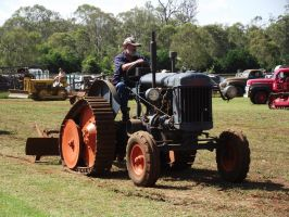 Fordson Halftrack tractor by RedtailFox