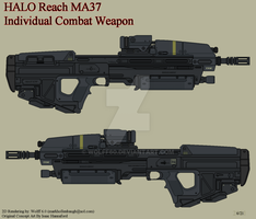 Halo Reach MA37 ICW by Wolff60